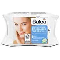 Giấy ướt tẩy trang Balea Erfrischende Reinigungs tucher 3in1
