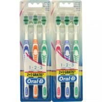 Bộ bàn chải đánh Răng Oral –B  classic care vỉ 3 chiếc