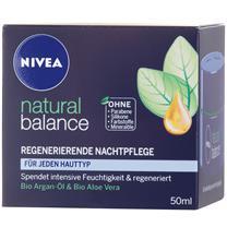 Kem Dưỡng Da Nivea Natural Balance Regenerierende Nachtpflege