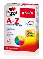 Vitamin tổng hợp Doppelherz Aktiv A-Z Langzeit - Vitamine Depot