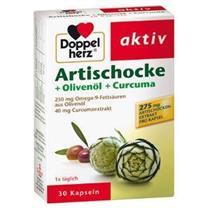 Doppelherz Artischocke + Olivenöl + Curcuma