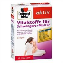 Thuốc cho bà bầu Doppelherz aktiv Vitalstoffe fur schwangere + Mutter 30 viên