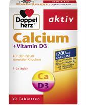 Thực phẩm bổ sung Canxi Doppel Herz Calcium + Vitamin D3
