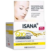 Kem dưỡng da chống lão hóa Isana Q10 ban đêm