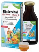 Siro Kindervital bổ sung Canxi và Vitamin D3 cho bé