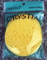 Bộ 2 Bông Rửa Mặt Tẩy Trang Crystia