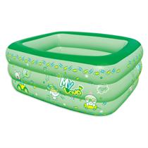 Bể bơi 3 tầng cho trẻ em ( màu xanh lá )