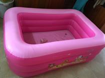 Bể bơi 3 tầng cho trẻ em ( màu hồng) + Tặng kèm bơm điện