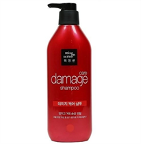 Dầu Gội Cho Tóc Hư Tổn (Đỏ) Mise En Scene Damage Care Shampoo Sleek & Smooth 530ML