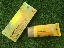 KEM CHỐNG NẮNG - CHỐNG NƯỚC CHOU CHOU WATERPROOF UV PROTECT CREAM SPF50+ PA+++
