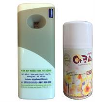 Máy xịt thơm phòng tự động kèm 1 bình xịt thơm lựa chọn mùi yêu thích - MG4, GT4