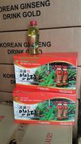 Nước Hồng Sâm Có Củ Korinsam Hàn Quốc 120ml x 10 chai 710 Kcal