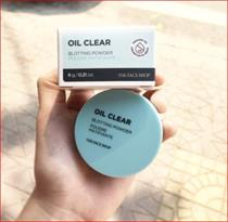 Phấn Bột kiềm dầu Oil Clear Blotting Powder The Face Shop