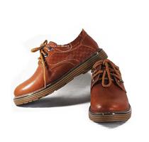 Giày thể thao buộc dây màu cam VI-VT5551N