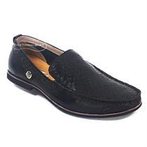 Giày mọi nam da lộn màu đen (Mã: VI-VT2044D)