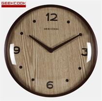 Đồng hồ treo tường vân gỗ hai kim BH809