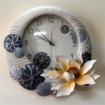 Đồng hồ trang trí hoa sen tinh khiết ZB02A