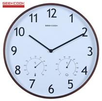 Đồng hồ treo tường xinh BH805 đo nhiệt độ độ ẩm rất tiện lợi