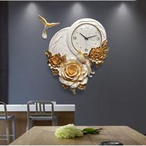 Đồng hồ trang trí nghệ thuật hoa Mẫu Đơn ZB01B