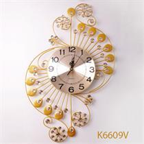 Đồng hồ treo tường nghệ thuật Cung Đàn Mùa Xuân B6609