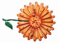 Đồng hồ Nghệ thuật Điêu khắc Hoa Hướng Dương BH6868