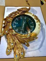 Đồng hồ trang trí Phong cách Hoàng Gia Chim khổng tước quý phái BH352D