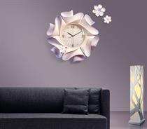 Đồng hồ trang trí treo tường nghệ thuật điêu khắc nổi ZB022B - Lộc Xuân