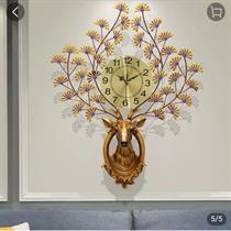 Đồng hồ trang trí Nghệ thuật Phong cách Quý tộc Tuần Lộc - BH911