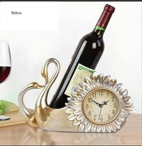 Kệ Rượu Thiên Nga kèm đồng hồ BH315