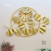Đồng hồ nghệ thuật kèm tranh sắt lá Ginkong nổi 2013