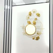 Gương trang trí nghệ thuật lá ginkong BH02