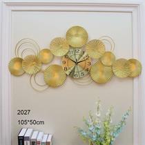 Đồng hồ nghệ thuật Sen vàng - BH2027