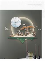 Đồng hồ Nghệ thuật Phù điêu nổi Lộc Xuân Thưởng Nguyệt - ZB2029A