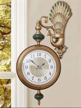Đồng hồ 2 mặt cao cấp Chim Công May Mắn BH0088