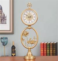 Đồng hồ Bàn Chuồn Chuồn lướt cánh Sen BH802-01 Bình An và Năng Lượng cho cuộc sống