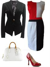 Set váy Zara phối màu (Đ001 + Ve001)