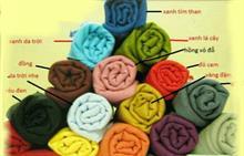 Khăn đũi handmade