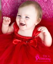 Đầm công chúa khăn đỏ Princess_PR112