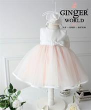 Đầm dạ hội pink melody ( giai điệu màu hồng ) HQ410 GINgER WORLD