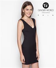 Đầm Ôm Back Vent GWD0021