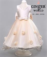 Đầm Dạ Hội Cho Bé Dự Tiệc HQ495 GINgER WORLD