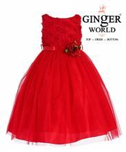 Đầm Dự Tiệc Cho Bé HQ497 GINgER WORLD