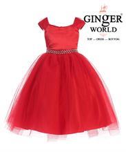 Đầm Dự Tiệc Giáng Sinh HQ499 GINgER WORLD