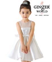 Đầm Dự Tiệc Cho Bé Beautiful Dress HQ506_T GINgER WORLD