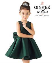 Đầm Dự Tiệc Cho Bé Beautiful Dress HQ506_XD GINgER WORLD