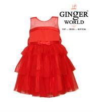 Đầm Dự Tiệc Xinh Xinh Ba Tầng HQ509_D GINgER WORLD
