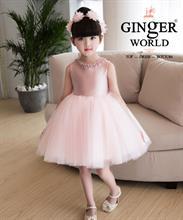 Đầm Dự Tiệc Cho Bé HQ520 GINgER WORLD