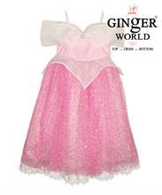 Đầm Aurora Công Chúa Ngủ Trong Rừng HQ534 GINgER WORLD