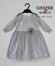Đầm Dự Tiệc Cho Bé HQ612 GINgER WORLD
