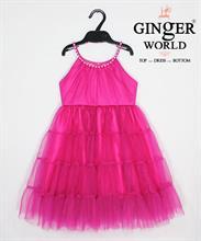 Đầm Dự Tiệc Cho Bé HQ613 GINgER WORLD